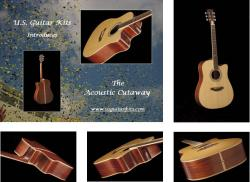 Custom Acoustic Cutaway Guitar